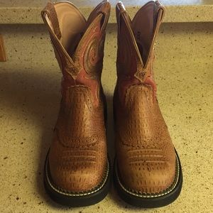 Ariat Fatbaby Western Cowboy Boots